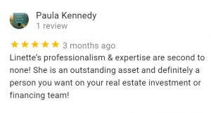 Linette Moore 5 Star Review